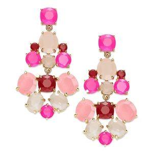 KATE SPADE • Pink Chandelier Earrings